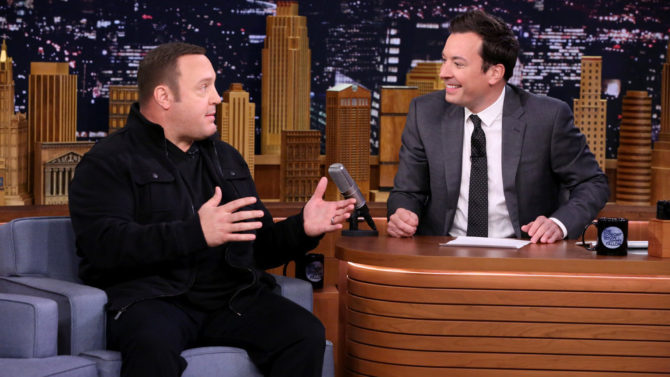 Kevin James en The Tonight Show