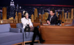 Miley Cyrus y Jimmy Fallon