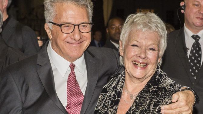 Dustin Hoffman and Judi Dench 'Esio