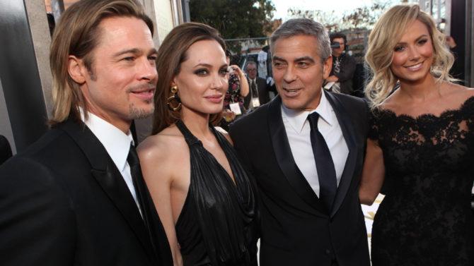 George Clooney reacciona divorcio Angelina Jolie