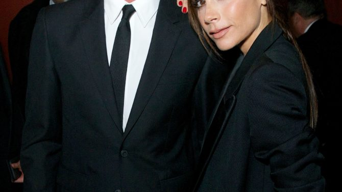 Victoria Beckham amor David Beckham primera