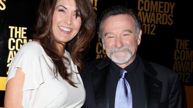 Susan Schneider and Robin Williams 2012
