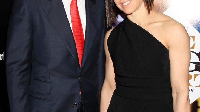 Anthony Bourdain y Ottavia Busia se