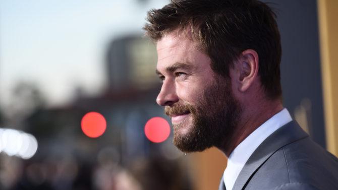 Chris Hemsworth comparte foto de su
