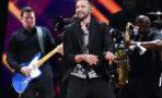 Justin Timberlake and band Eurovision Song