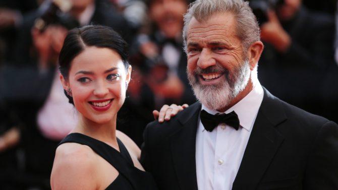 Rosalind Ross y Mel Gibson