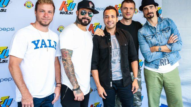 Backstreet Boys 103.5 KTU's KTUphoria, Jones