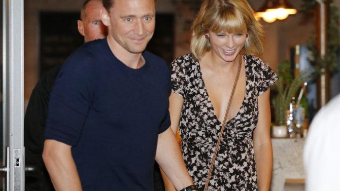 Tom Hiddleston y Taylor Swift out