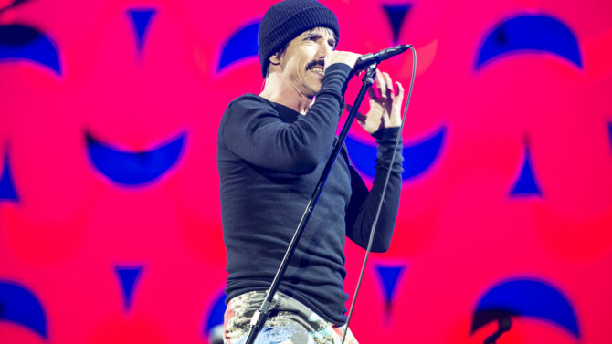 Red Hot Chili Peppers - Anthony