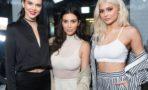 Kendall, Kylie Jenner y Kim Kardashian