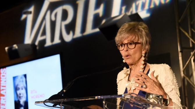 Rita Moreno Legacy Award Variety Latino