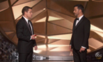 Matt Damon y Jimmy Kimmel en