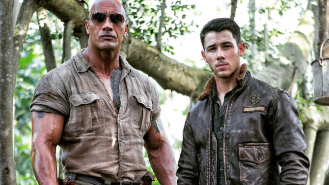 the rock nick jonas jumanji