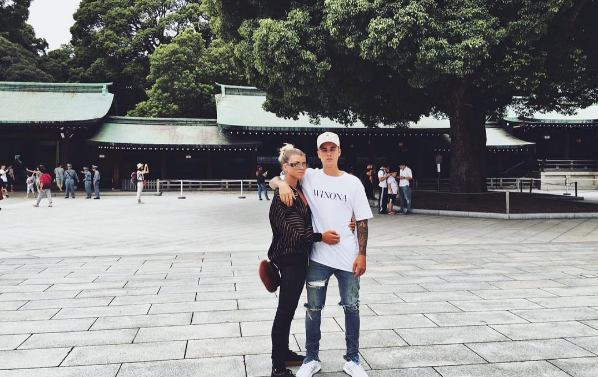 Sofia Richie y Justin Bieber