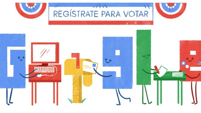 Google información latinos registro votar