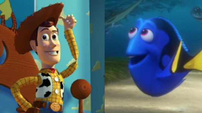 Video Ellen DeGeneres Tom Hanks Dory
