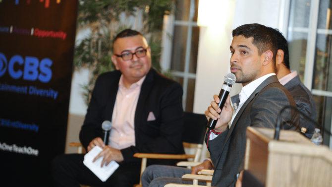 Adam Rodriguez and Wilmer Valderrama at