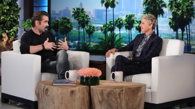 Colin Farrel en Ellen