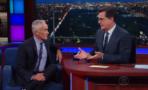 Jorge Ramos y Stephen Colbert