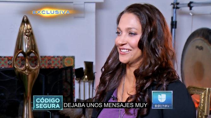 Novia latina Donald Trump entrevista
