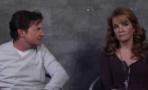 Michael J. Fox y Lea Thompson