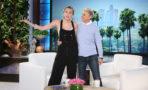 Ellen DeGeneres y Hillary Clinton