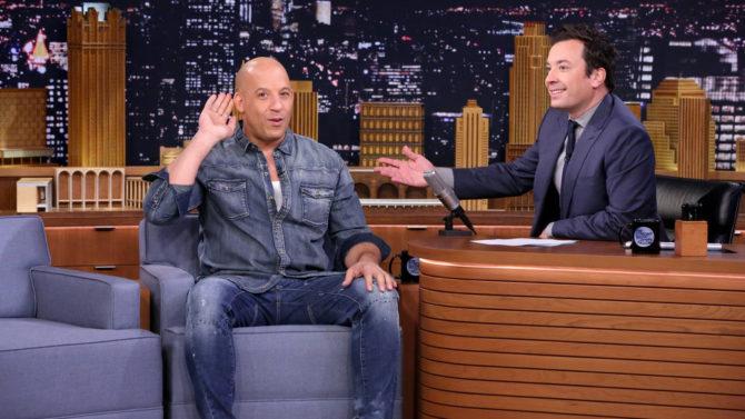Vin Diesel y Jimmy Fallon