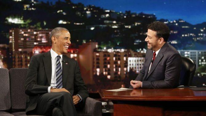 Presidente Obama y Jimmy Kimmel
