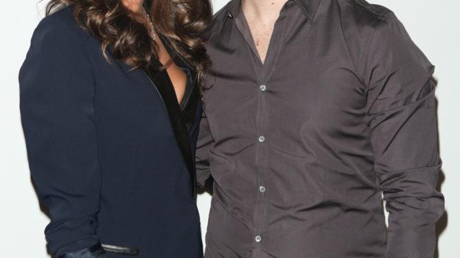 Danielle y Kevin Jonas dan la