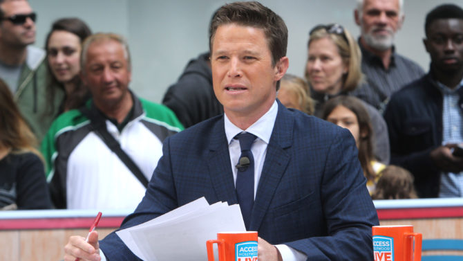 Billy Bush 'Access Hollywood Live' TV