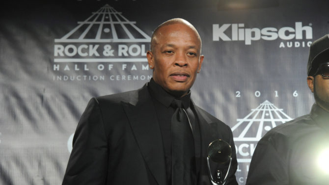 Dr Dre 31st Annual Rock And