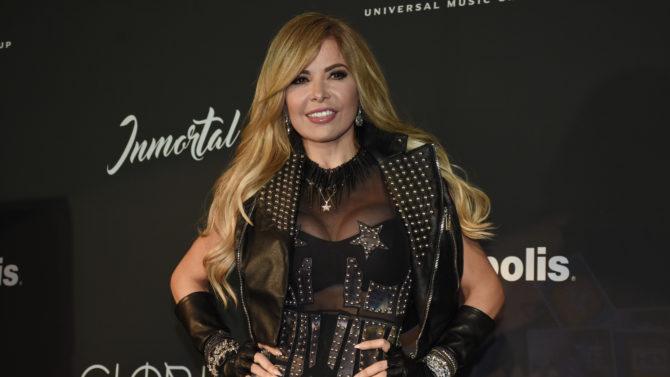 Gloria Trevi 'Immortal' album launch, Mexico