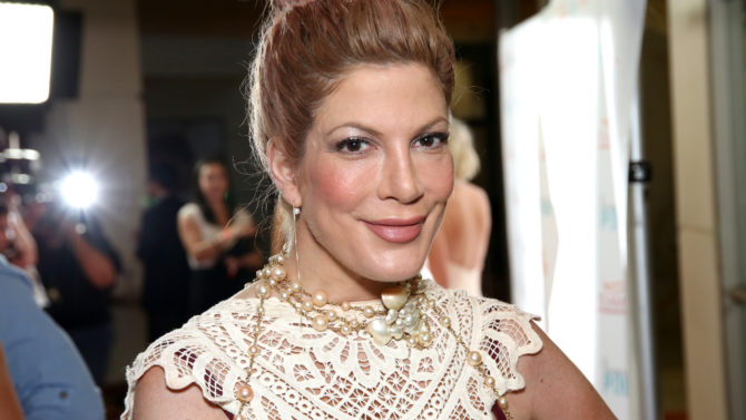 Tori Spelling 'Raising The Bar to