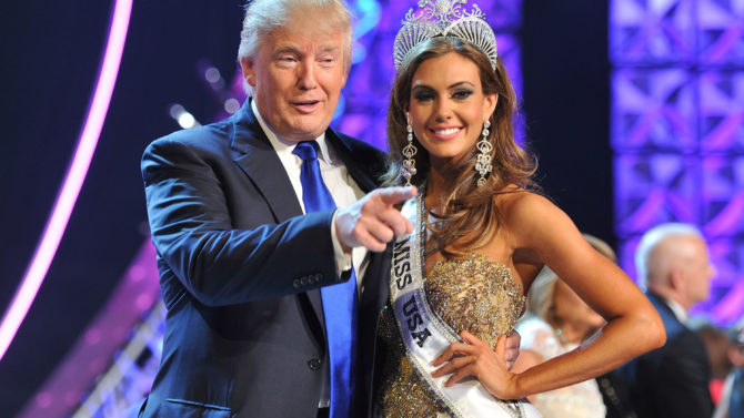 Donald Trump y Erin Brady