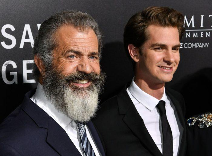 Mel Gibson y Andrew Garfield