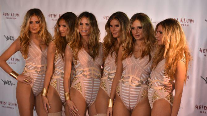 Heidi Klum y sus clones