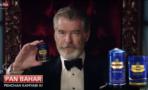 Comercial protagonizado por Pierce Brosnan causa