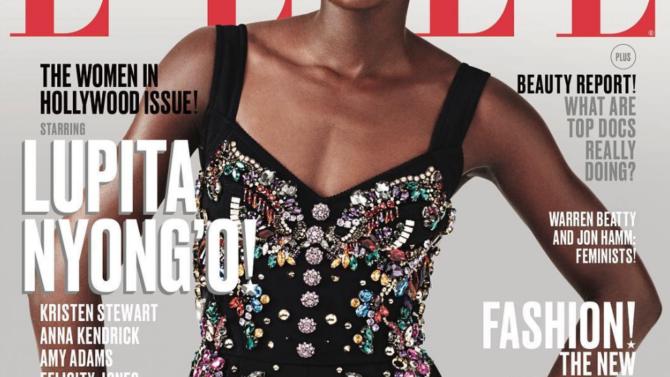 Lupita Nyong'o en su primera portada