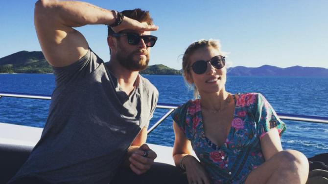 Chris Hemsworth y Elsa Pataky niegan