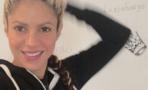 """Shakira publica """"la selfie del día"""""""