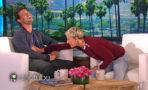 Taylor Lautner y Ellen DeGeneres