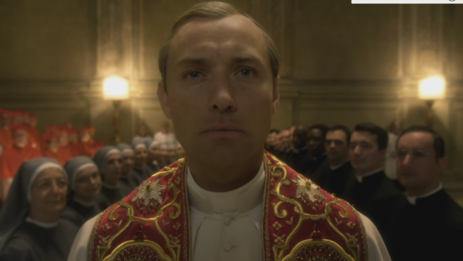 Jude Law is a Pope That