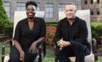 Tom Hanks y Leslie Jones