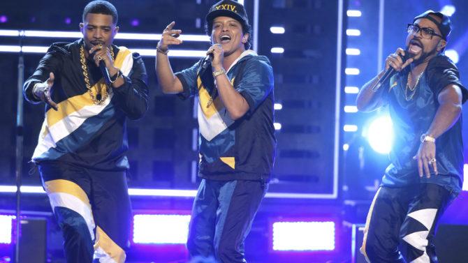 Video Bruno Mars American Music Awards