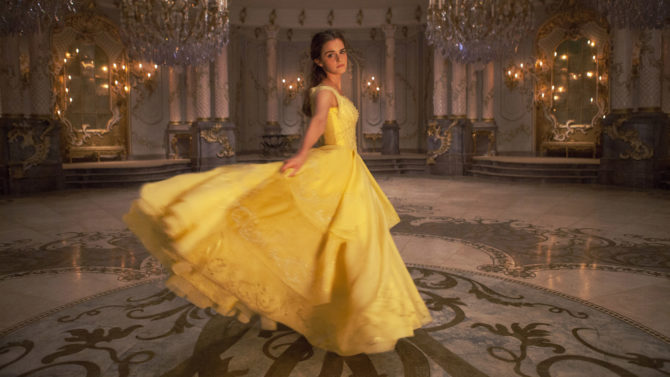 Emma Watson as Belle in Disney's
