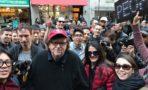 Michael Moore protestas contra Donald Trump
