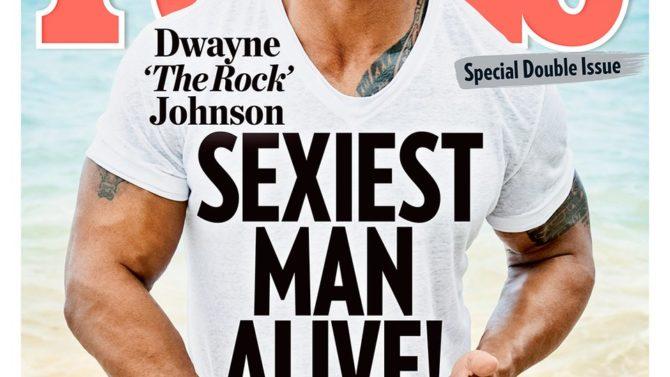 Dwayne Johnson hombre más sexy 2016