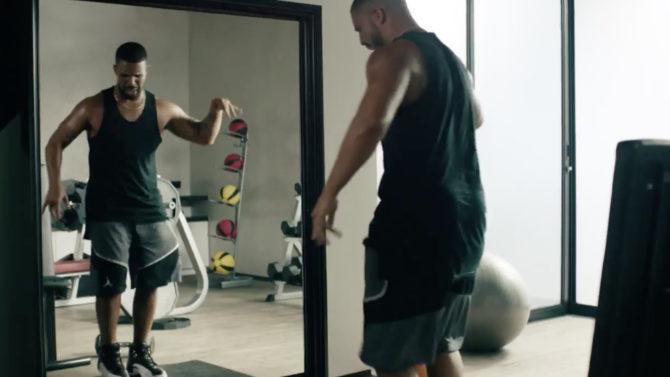 Video Drake comercial Apple Music