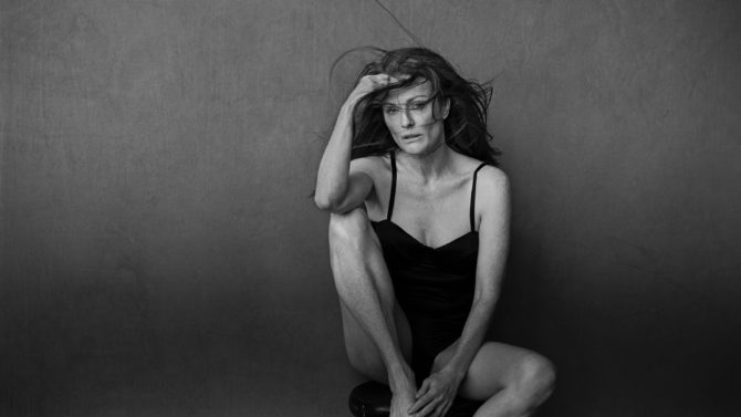 Julianne Moore calendario Pirelli