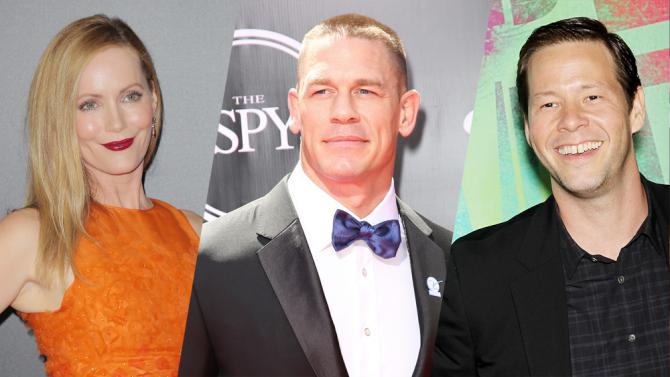Leslie Mann, John Cena e Ike